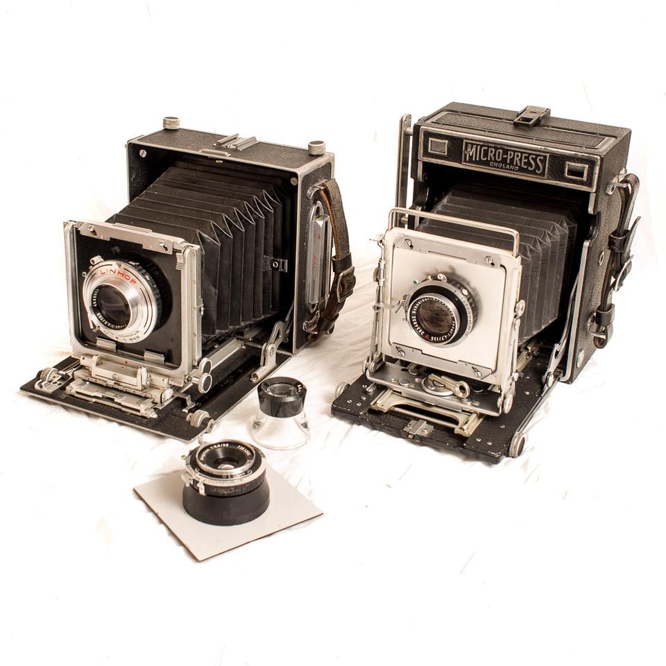 MPP & MPP Micro-Press Plate Film Cameras